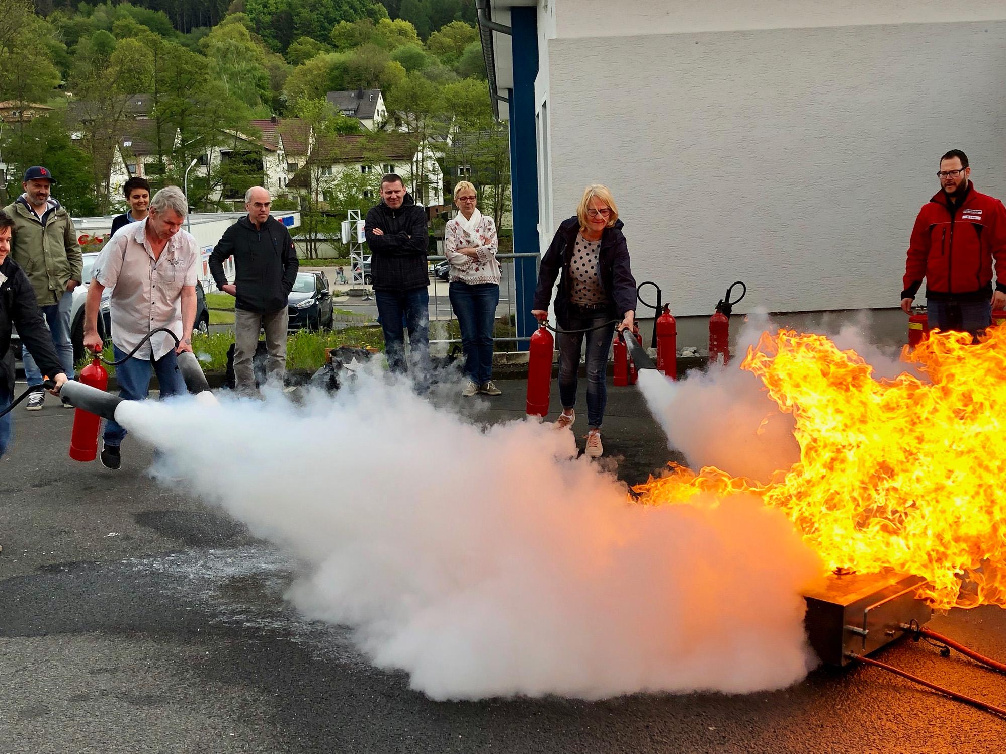 Brandschutzschulung 1